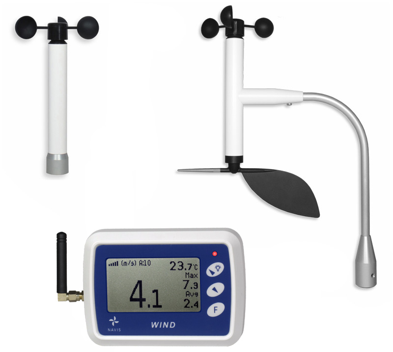 WR5 - Wireless anemometer
